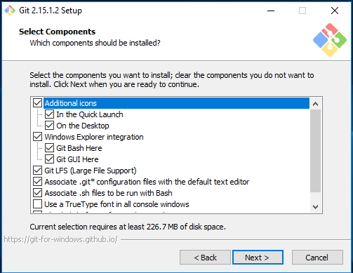 Git For Windows Installation Screenshots | A Matter of Software
